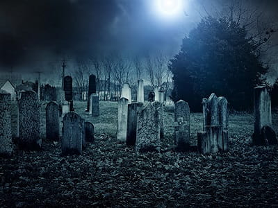 Не ходите ночью по кладбищу гулять