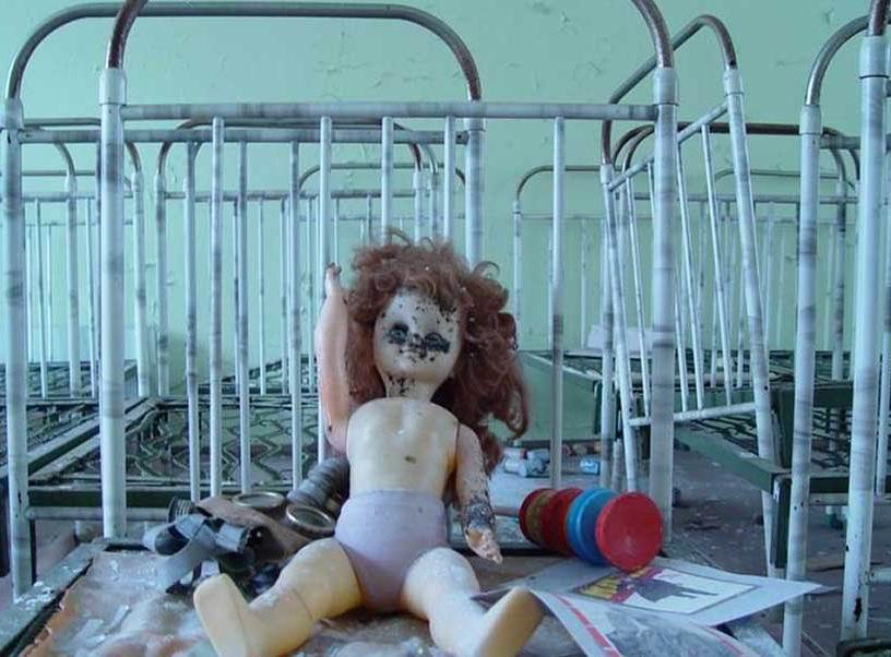 Заброшенный детский сад...