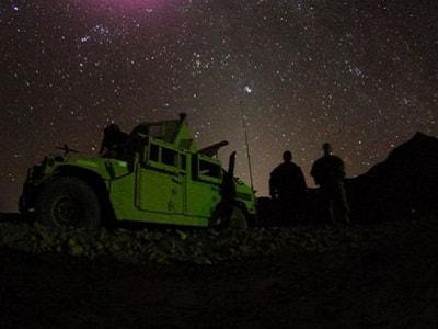Ночью в карауле