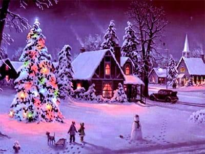 Гадание в Рождественскую ночь