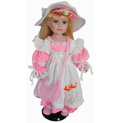 Фарфоровая кукла Салли