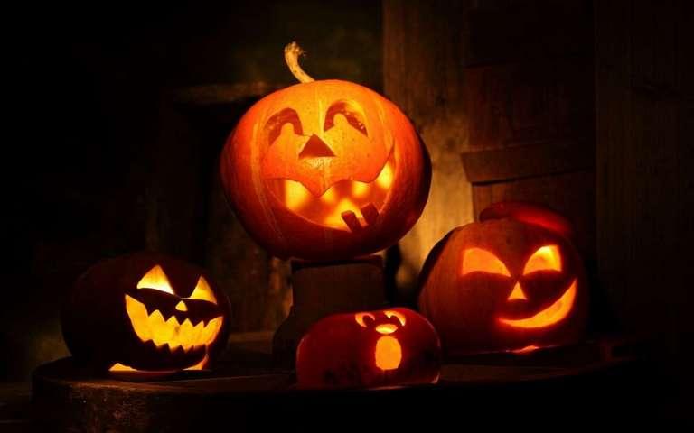 Хэллоуин поздравления Фантастика   картинка