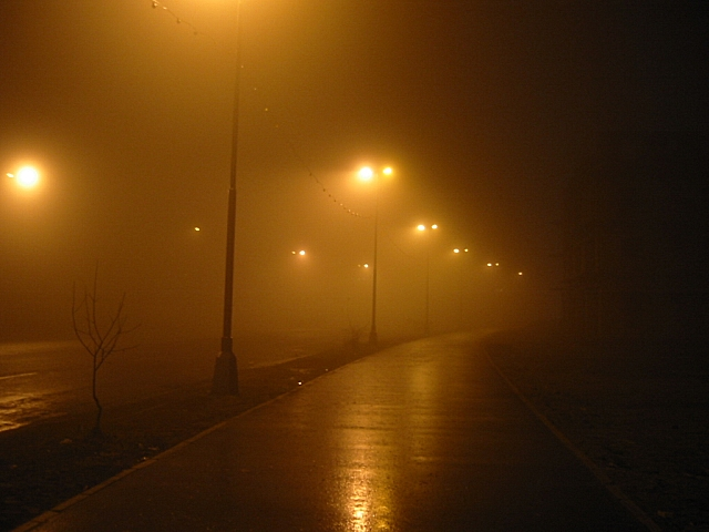 Не гуляй поздно вечером