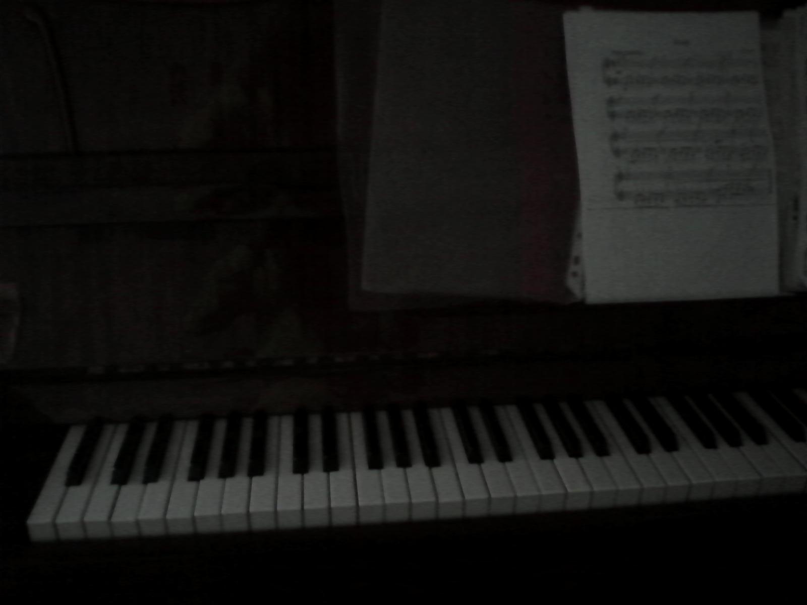 Старое Фортепиано