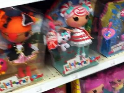 Кукла из магазина