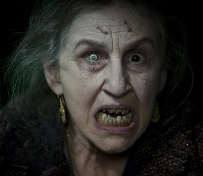 Страшная бабка