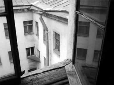 Стук за окном