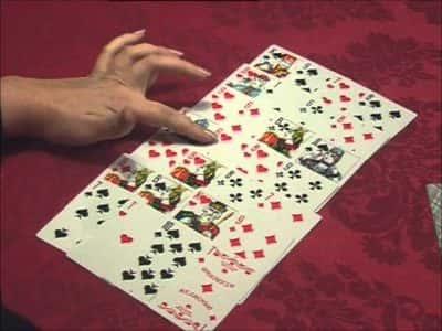 Гадание с помощью игральных карт