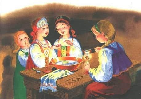 Святки — традиции, приметы и обычаи Приметы  картинка