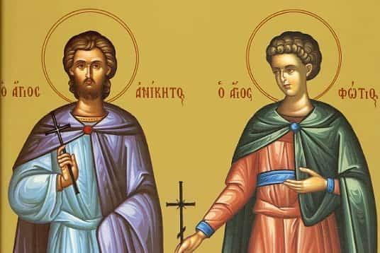 Фотя Поветенный (День мучеников Фотия и Аникиты) Приметы  картинка
