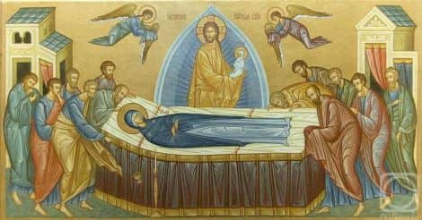 Успение Пресвятой Богородицы Приметы  картинка