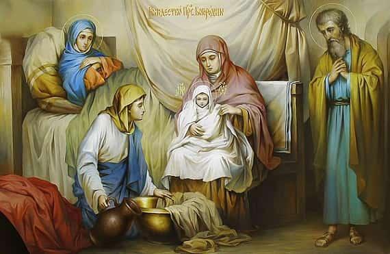 Рождество Пресвятой Богородицы (Осенины) Приметы  картинка