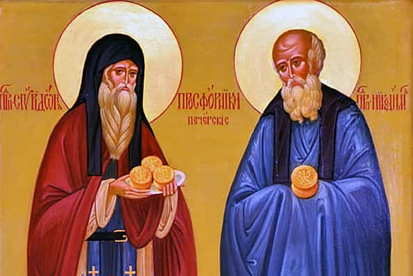 Спиридон и Никодим Приметы  картинка