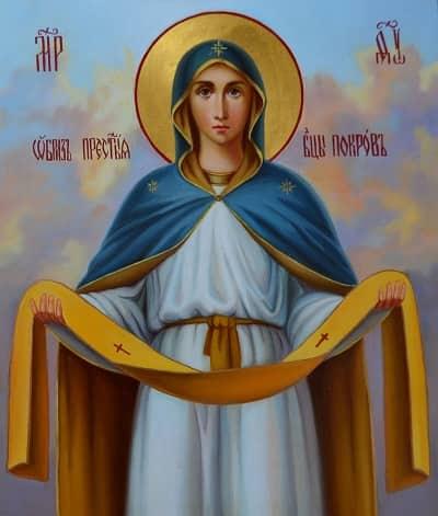 Икона «Покров Пресвятой Богородицы»