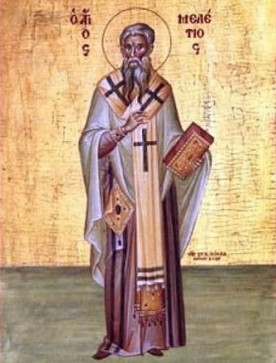 Святой Милентий Антиохский