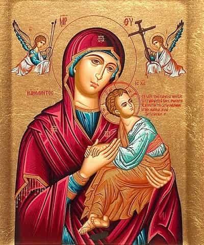 Икона Пресвятой Богородицы «Страстная»