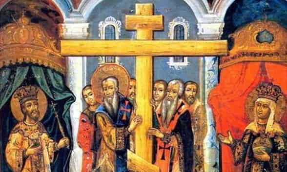 Воздвижение Креста Господня Приметы  картинка