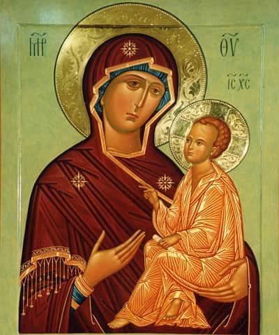 Икона Божьей Матери «Тихвинская»