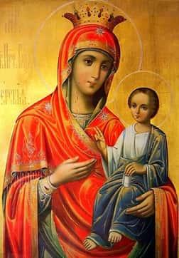 Иверская икона Божией Матери Приметы  картинка