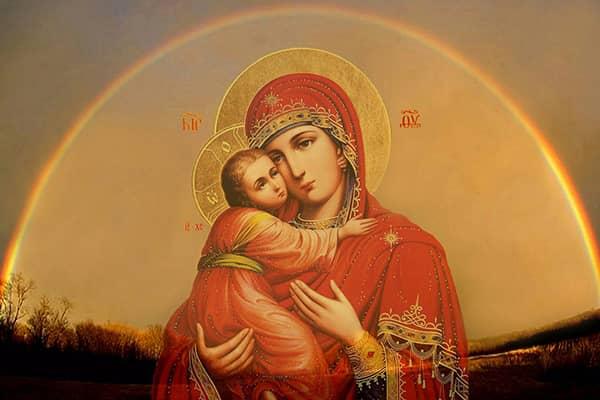 Сильные оберегающие молитвы Богородицы Вера и надежда  картинка
