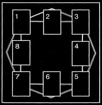 Магические карты и квадрат меркурия Гадания  картинка