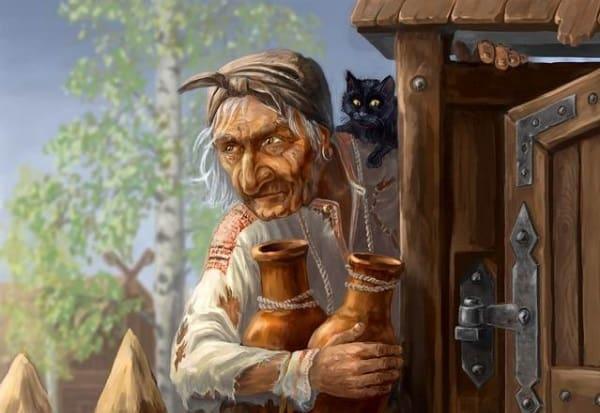 Баба-яга кто это и почему так назвали Легенды  картинка