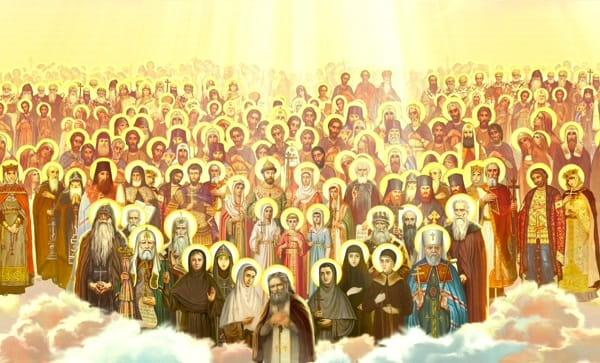 День всех святых Приметы  картинка