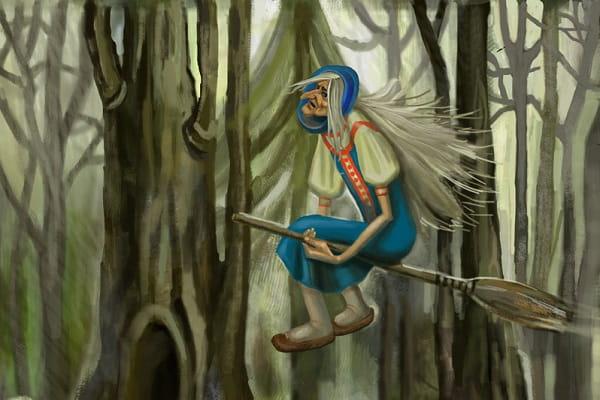 Кто такая баба яга, славянская мифология Легенды  картинка