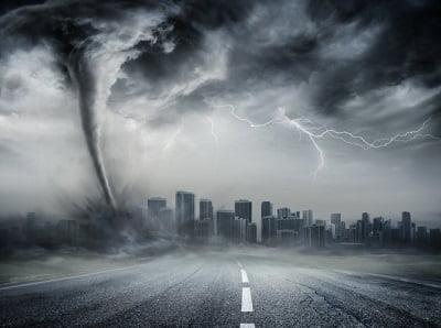 Видеть ураган во сне