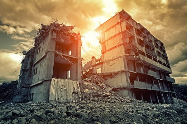 Разрушенный дом во сне Сонник  картинка