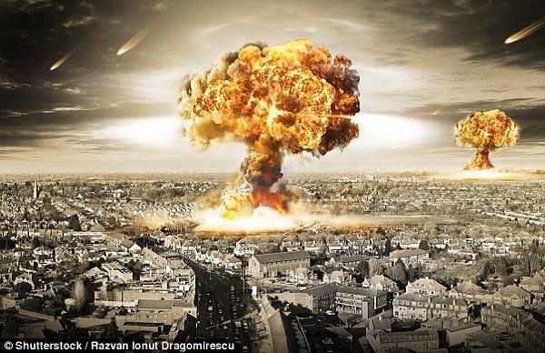 Взрыв бомбы во сне Сонник  картинка
