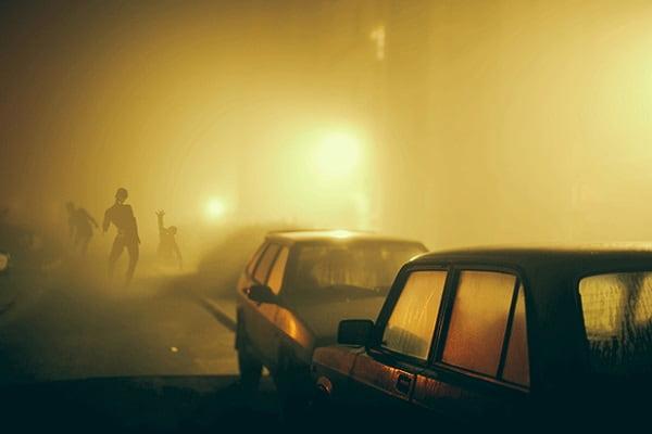 Видеть и убегать от зомби во сне Сонник  картинка