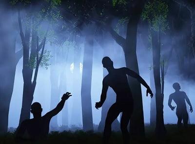 Видеть и убегать от зомби во сне