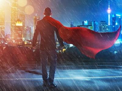 Быть супергероем во сне