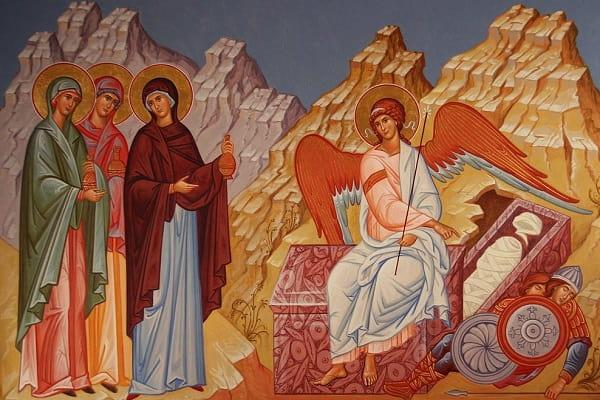 День жен-мироносиц (Православный женский день) Приметы  картинка