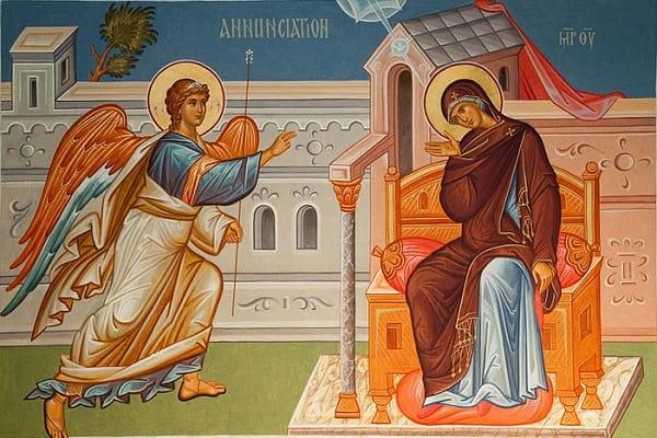 Благовещенье (Благовещение Пресвятой Богородицы) Приметы  картинка