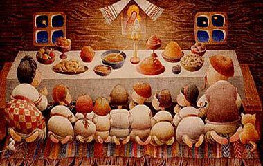 Украинские новогодние традиции