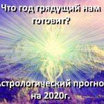 Астрологический прогноз на 2020г