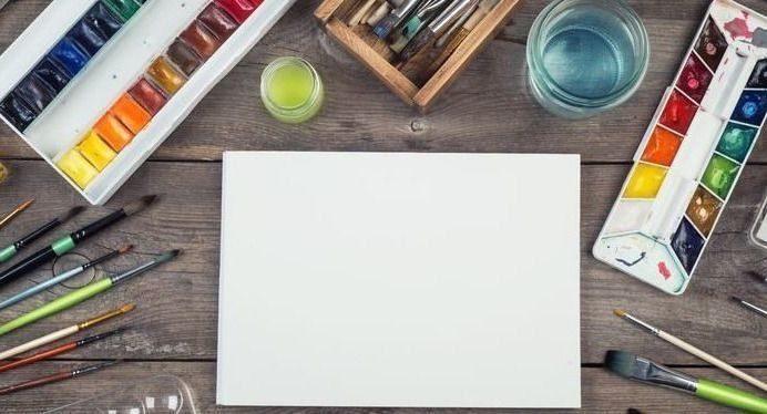Широкий ассортимент товаров для живописи, графики и черчения