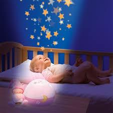 Проекторы вместо обычных ламп в детской комнате
