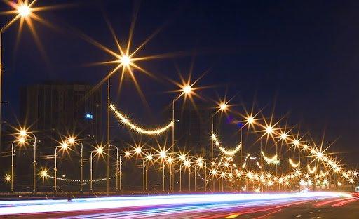 Особенности организации уличного освещения