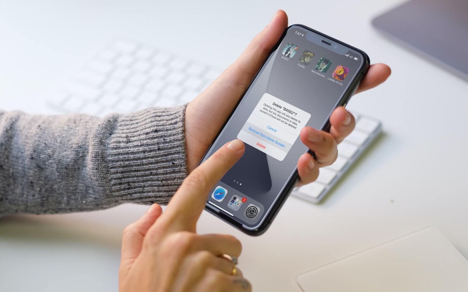 Почему не удаляется приложение с телефона